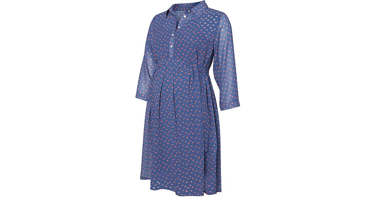 Umstandskleid MLAMELIA blau Gr. 40 Damen Kinder