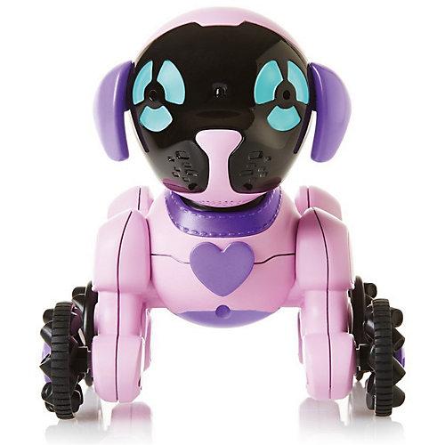 Робот на р/у WowWee Собака Чиппи, розовая от WowWee