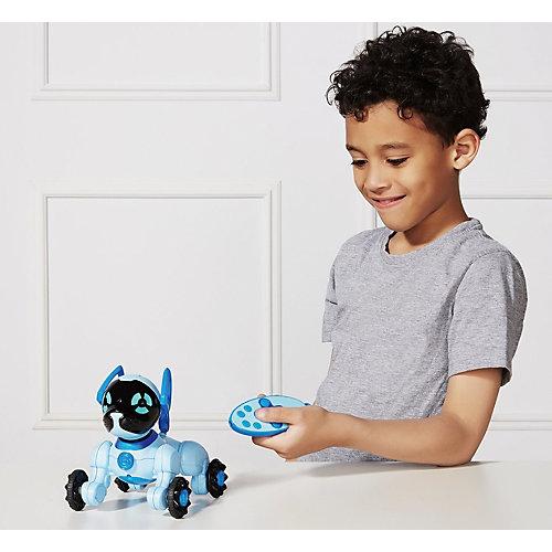 Робот на р/у WowWee Собака Чиппи, голубая от WowWee