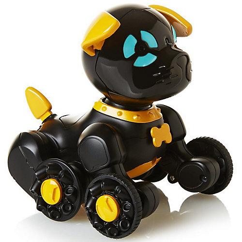 Робот на р/у WowWee Собака Чиппи, черная от WowWee