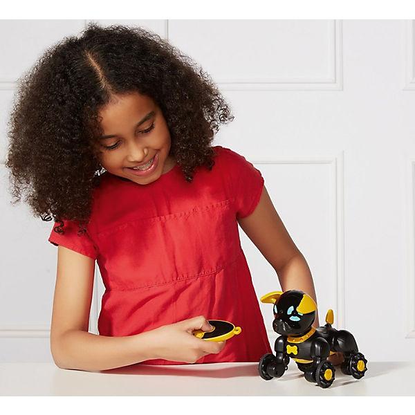 Интерактивная игрушка Wowwee Собачка Чиппи, черная
