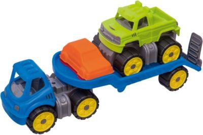 BIG Power Worker Maxi Truck Großer LKW Kipper Sandauto Auto