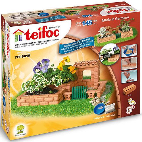 """Конструктор из кирпичиков Teifoc """"Цветник"""", 145 деталей от teifoc"""