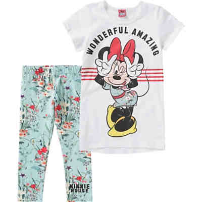 Disney Minnie Mouse Set Kinder Longshirt + Leggings