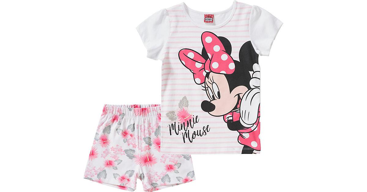 Disney · Disney Minnie Mouse Schlafanzug Gr. 128 Mädchen Kinder