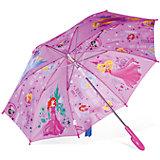 """Зонт детский Принцесса """"Рапунцель, Золушка, Аврора и Ариэль"""", Disney"""