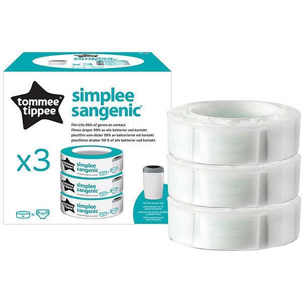 Сменная кассета для утилизатора Tommee Tippee Simplee, 3 шт.