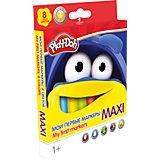 """Фломастеры Maxi Академия Групп """"Play-Doh"""", 8 цветов"""