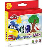 "Фломастеры Mega Jumbo Академия Групп ""Play-Doh"", 10 цветов"