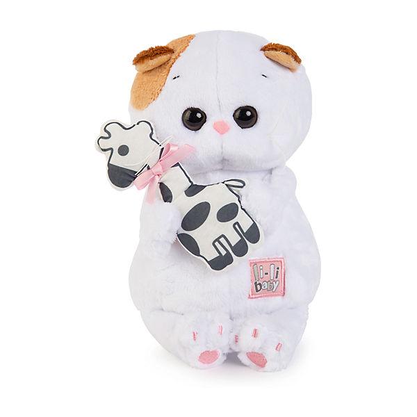 Мягкая игрушка Budi Basa Кошечка Ли-Ли Baby с жирафиком, 20 см