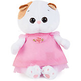 Мягкая игрушка Budi Basa Кошечка Ли-Ли Baby в розовом платье, 20 см