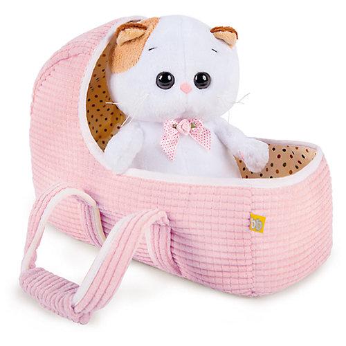 Мягкая игрушка Budi Basa Кошечка Ли-Ли Baby в люльке, 20 см от Budi Basa