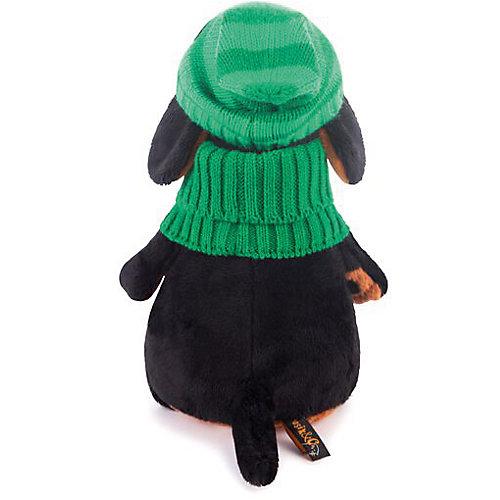 Мягкая игрушка Budi Basa Собака Ваксон в зеленой шапке и шарфе, 25 см от Budi Basa