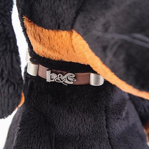 Мягкая игрушка Budi Basa Собака Ваксон в ошейнике, 29 см от Budi Basa