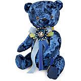 Мягкая игрушка Budi Basa Медведь БернАрт, сапфировый, 30 см