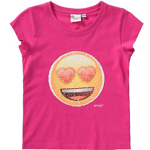 emoji T-Shirt mit Wendepailletten Gr. 164/170 Mädchen Kinder | 04052384365271