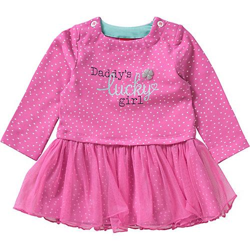 s.Oliver Baby Kleid mit Tüllrock und Glitzer Gr. 86 Mädchen Kleinkinder | 04055268378411