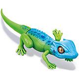 """Интерактивная игрушка Zuru """"Робо-ящерица"""", сине-зеленая (движение)"""