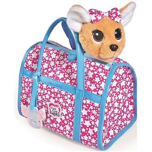 "Мягкая игрушка Simba Chi-Сhi Love Собачка ""Звездный стиль"" с сумочкой, 20 см от Simba"