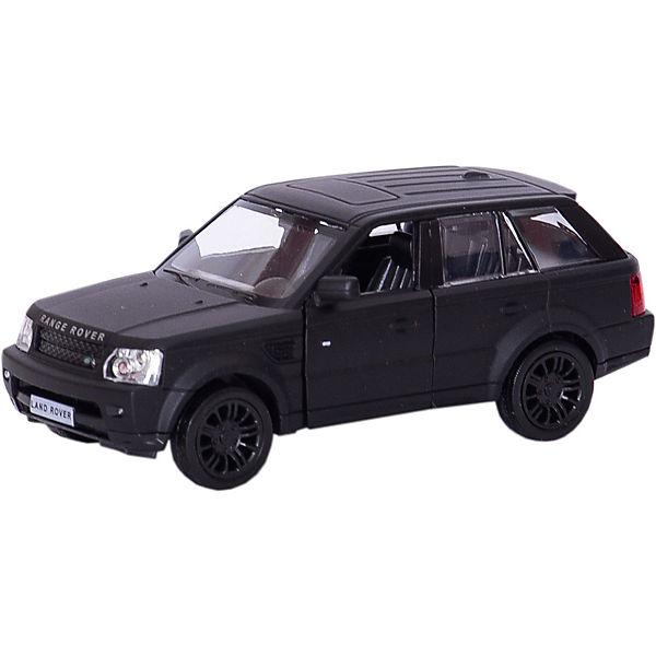 """Металлическая машинка RMZ City """"Range Rover Sport"""" 1:32, черный матовый"""