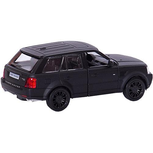 """Металлическая машинка RMZ City """"Range Rover Sport"""" 1:32, черный матовый от RMZ City"""