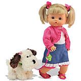 Классическая кукла Dimian Нена с собачкой, 36 см