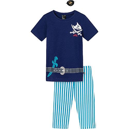 SCHIESSER CAPT´ N SHARKY Schlafanzug Gr. 92 Jungen Kleinkinder | 04007064887291