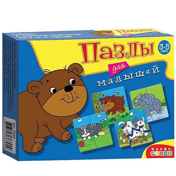 Играй и собирай. Пазлы для малышей. Арт. 2592