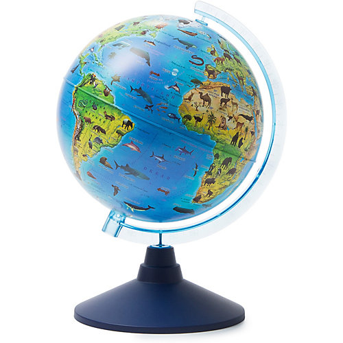 Глобус Зоогеографический (Детский) 210мм от Globen