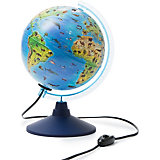 Глобус Зоогеографический (Детский) с подсветкой 210мм