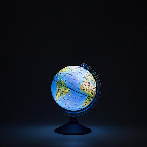 Глобус Зоогеографический (Детский) с подсветкой от батареек от Globen