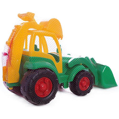 """Трактор с лопатой и ковшом Полесье """"Чемпион"""", зеленый от Полесье"""