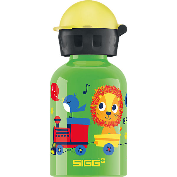 Alu-Trinkflasche Jungle Train, 300 ml