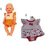 Одежда для куклы Карапуз Платье-боди, 40-42 см