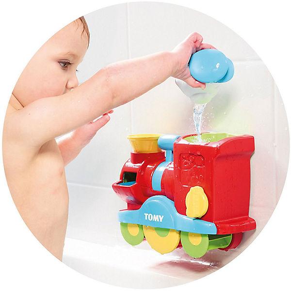 """Игрушка для ванны Tomy """"Веселый паровозик"""" с мыльными пузырями"""