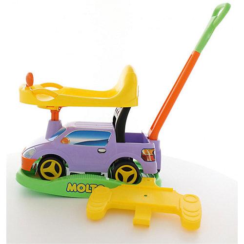 """Машина-каталка с ручкой Полесье """"Пикап"""" многофункциональная, сиреневая от Полесье"""