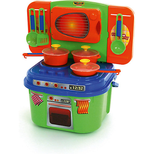 """Игровой набор Полесье """"Мини-кухня"""", в коробке от Полесье"""