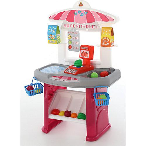 """Игровой набор Полесье """"Мини-супермаркет"""", в коробке от Полесье"""