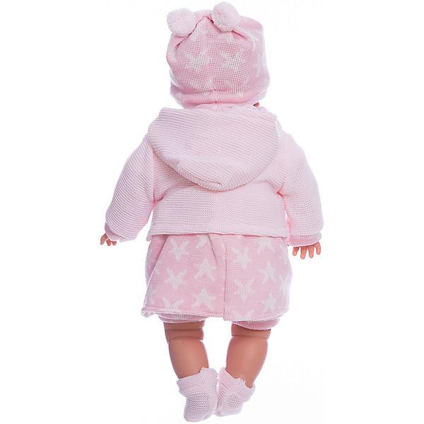 Кукла-пупс Llorens Ника в розовом платье, 48 см