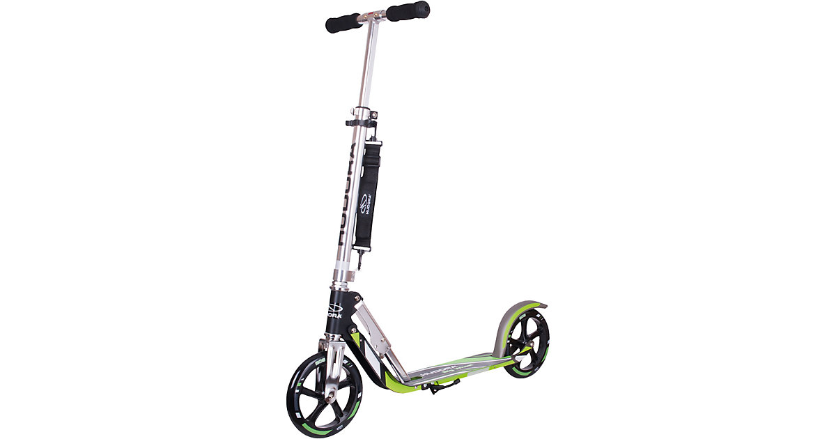 Scooter Hudora Big Wheel 205 RX Pro schwarz/grü...