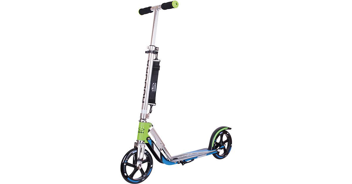 Scooter Hudora Big Wheel 205 RX Pro grün/blau -...