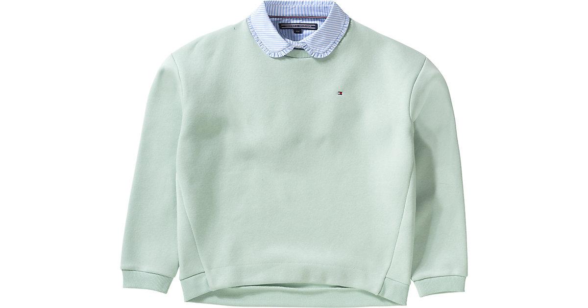 Tommy Hilfiger · Pullover mit Blusenkragen Gr. 152 Mädchen Kinder