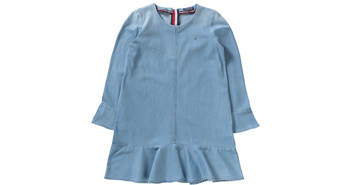 Tommy Hilfiger · Kinder Jeanskleid Gr. 176 Mädchen Kinder