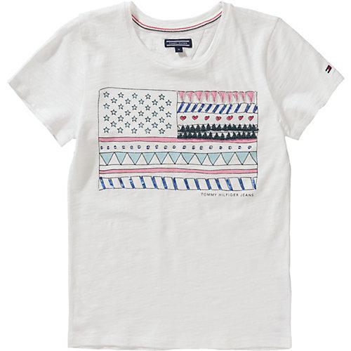 TOMMY HILFIGER T-Shirt Gr. 152 Mädchen Kinder | 08719256974301