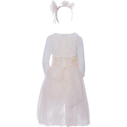 Нарядное платье Les Gamins - бежевый от Les Gamins