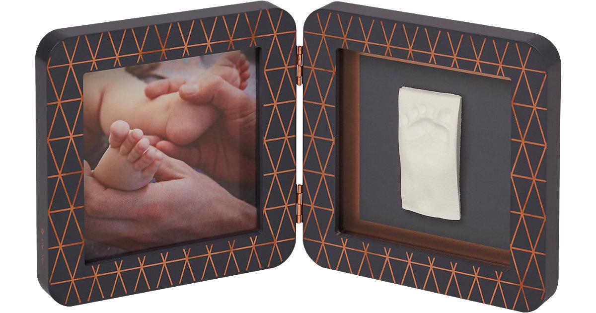 BABY ART · Gipsabdruck Set mit 2-tlg. Bilderrahmen My Baby Touch, Copper Edition Black Simple (Ltd.Ed. 2018)