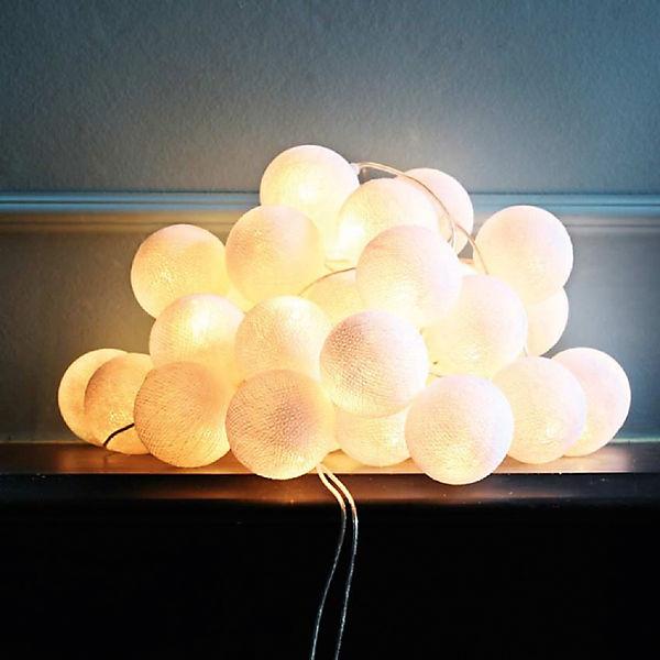 """Гирлянда LED 1.5 м """"Белые"""" от батареек"""