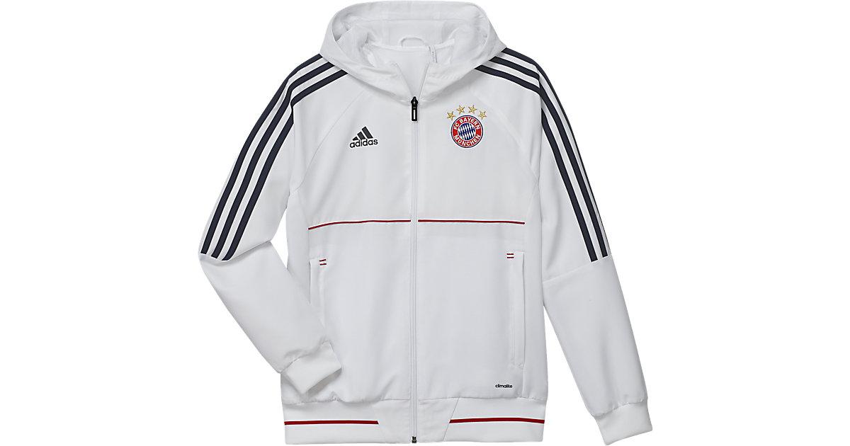 ADIDAS PERFORMANCE · Trainingsjacke FC Bayern München Gr. 128 Jungen Kinder