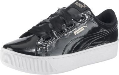 PUMA, Vikky Ribbon Bold Sneakers Low, schwarz kombi Schuhe