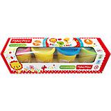 Тесто для лепки Fisher Price 4 цвета
